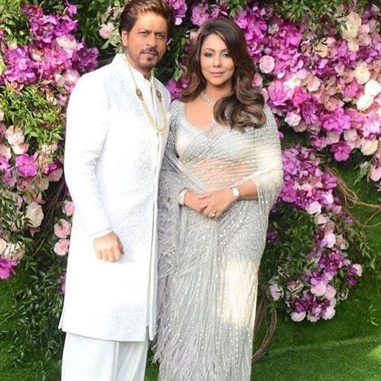 Gauri and Shahrukh Khan