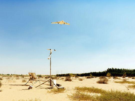 NCM drone testing