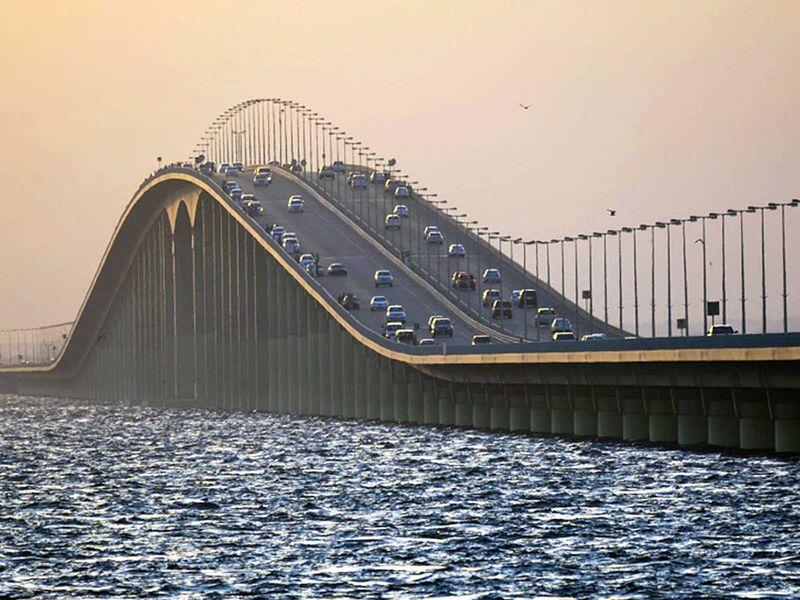 Saudi Bahrain causeway