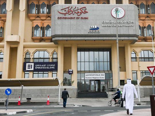 Stock Dubai Land department