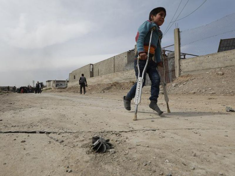 Syria wounded