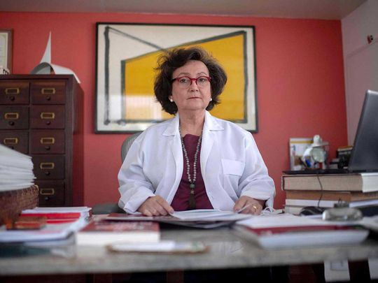 Pulmonologist Margareth Dalcolmo