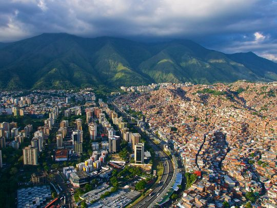 STOCK Caracas, Venezuela