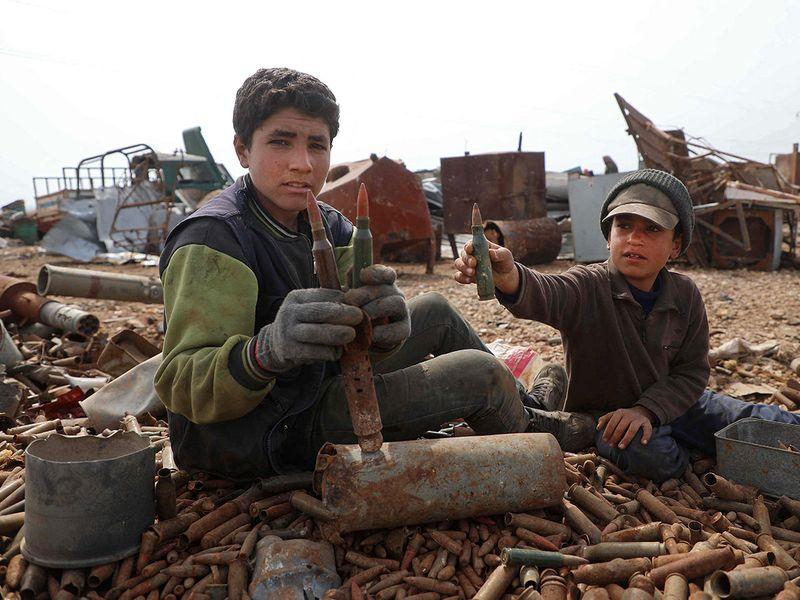 Syria ammunitions gallery