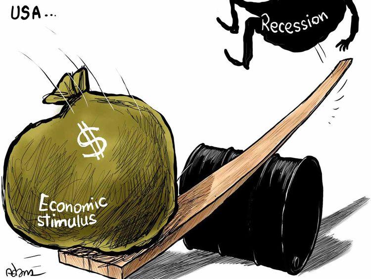 Cartoon: Biden stimulus to lift US economic growth | Cartoons – Gulf News
