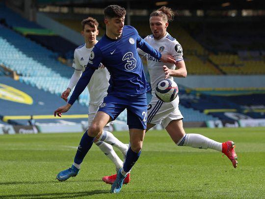 Chelsea take on Leeds United