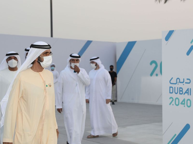 Dubai 2040 Urban Master Plan