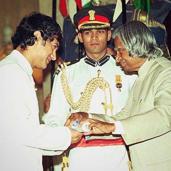 Aamir Khan with Late Abdul Kalam