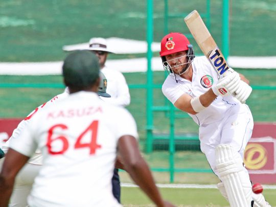 Afghanistan defeated Zimbabwe in Abu Dhabi