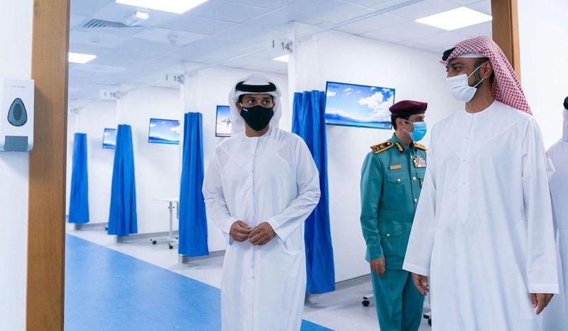 Field hospital in Ajman