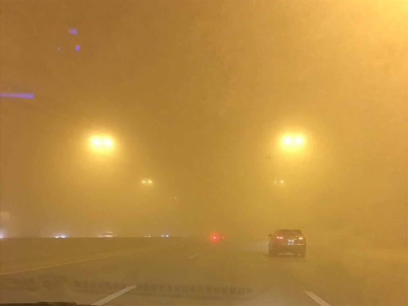 Sandstorm in Saudi Arabia
