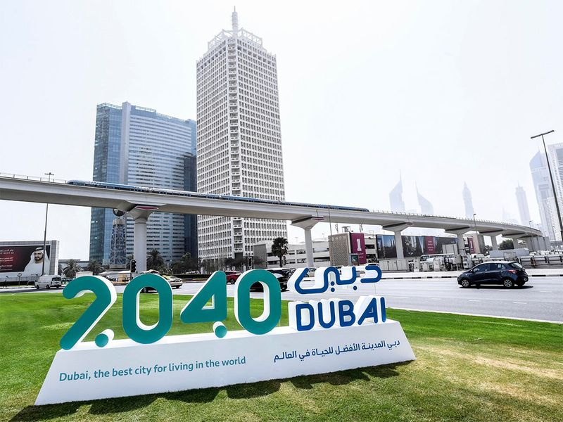 Dubai2040 ... Making the city the world's best to live in