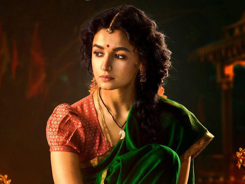 Alia Bhatt in poster for 'RRR'