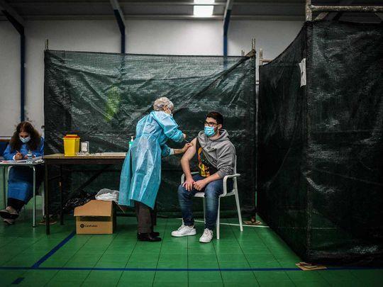 Corvo Portugal island vaccine covid