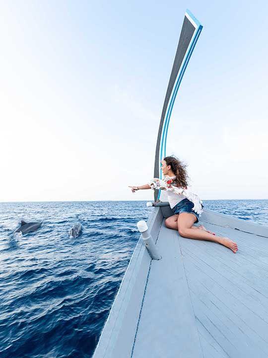 JA Manafaru Maldives boat