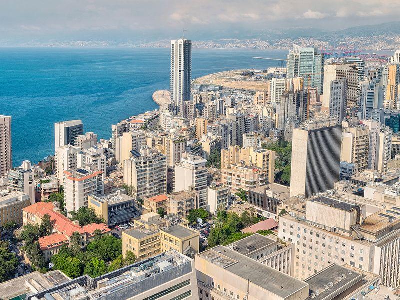 Stock Lebanon Beirut