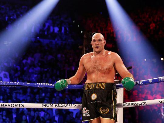 Tyson Fury will face Anthony Joshua