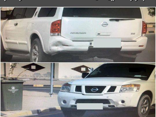 Ajman vehicle