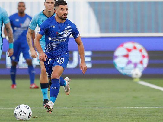 Al Nasr won in the Arabian Gulf League