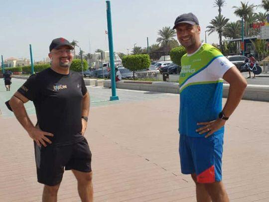 Dr Haitham Solh and Ahmad Ali
