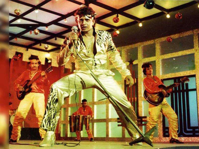 Films - Mithun as Disco Dancer