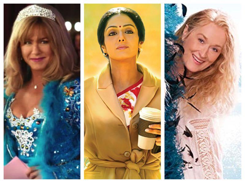 Jennifer Aniston, Sridevi, Meryl Streep