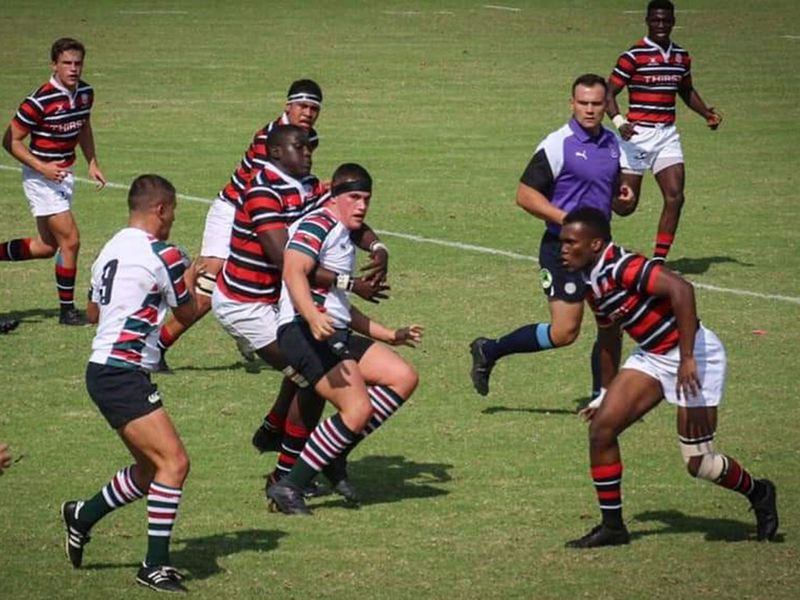 Monray Gilbert will make history on Friday as he officiates in the UAE-Israel rugby matches