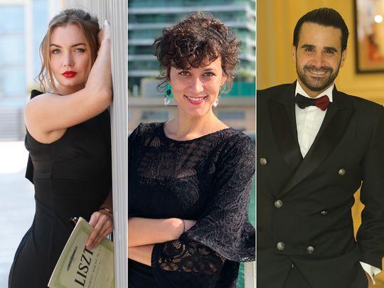 Pianist Jelena Matvejevskaja, Soprano Ana Kovacevic and Tenor Joseph Terterian