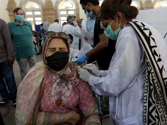 Vaccine Karachi Pakistan Sinopharm