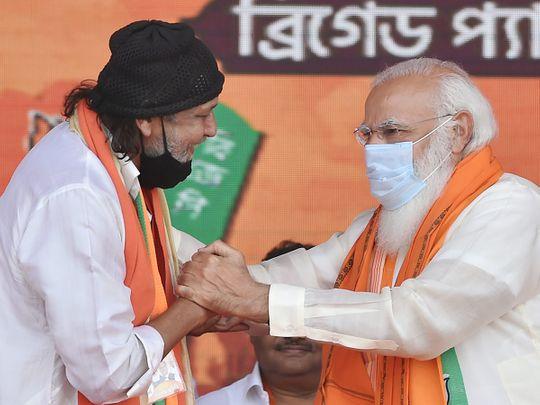 WB elections - Mithun & Modi