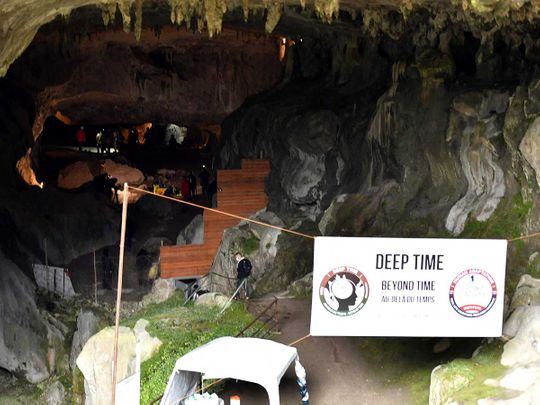 Deep time cave research france