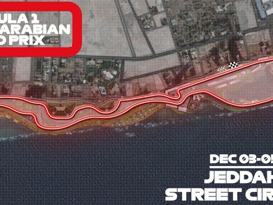 F1- Jeddah Street Circuit