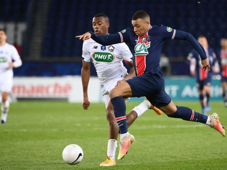 Football -Mbappe