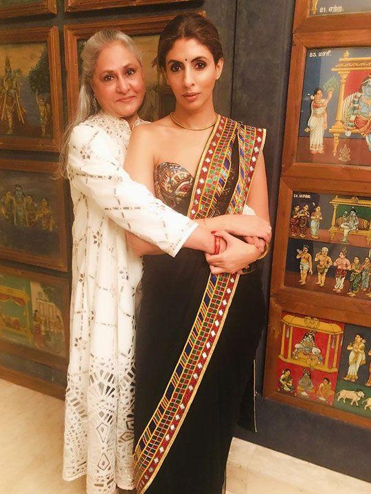 Jaya and Shweta Bachchan
