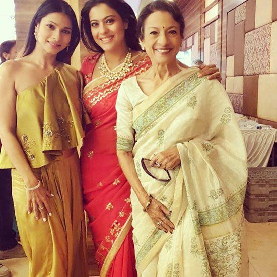 Kajol, Tanuja and Tanisha Mukherji