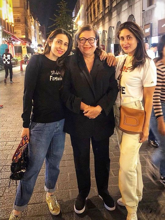 Karisma Kapoor, Kareena Kapoor and Babita