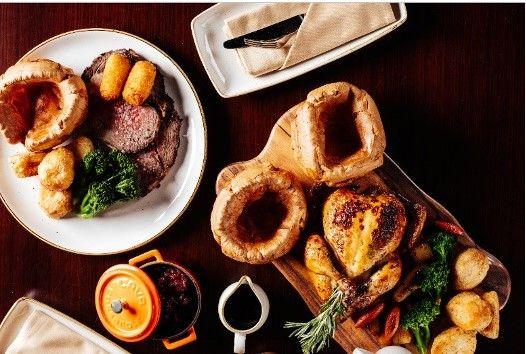 Nine Gastropub, great british roast