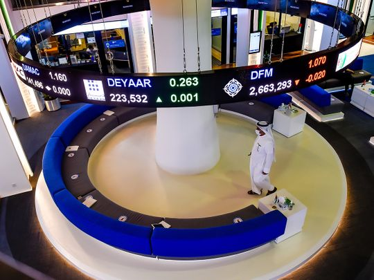 Stock Dubai Financial Market TRADERS DFM