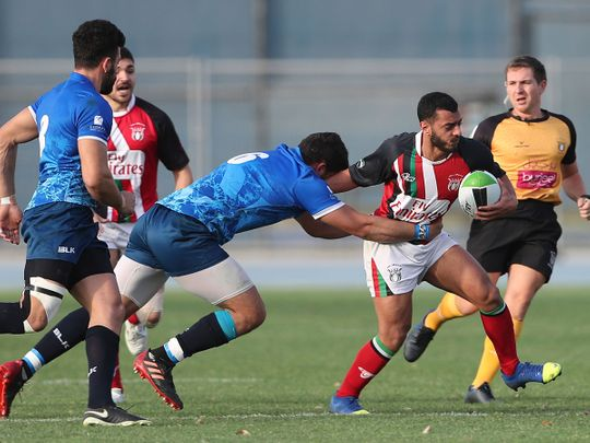 Israel and the UAE played a historic match in Dubai