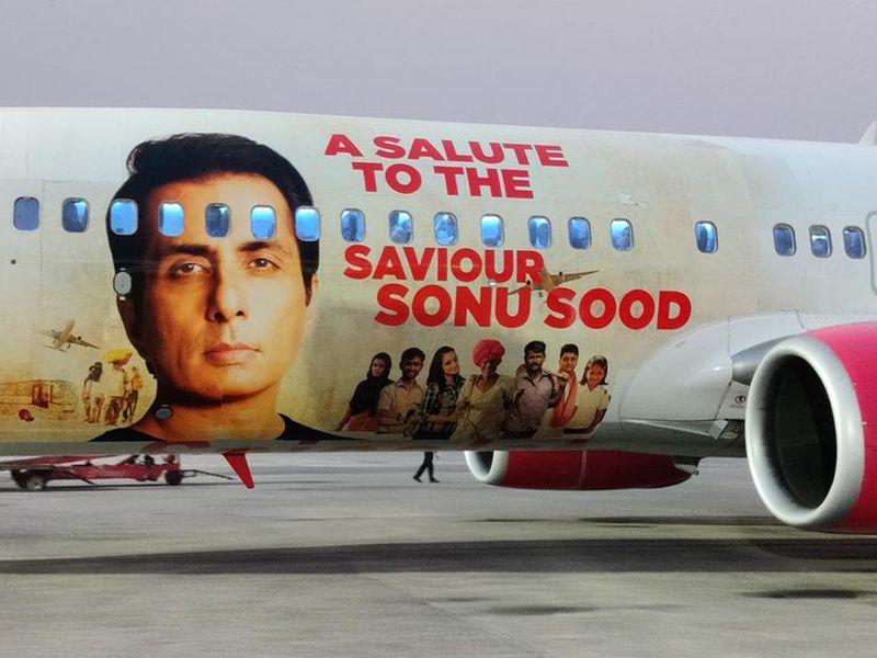 Sonu Sood plane-1616244383135