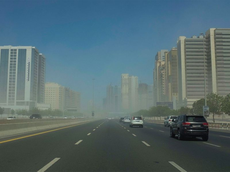 Dust Storm in Sharjah