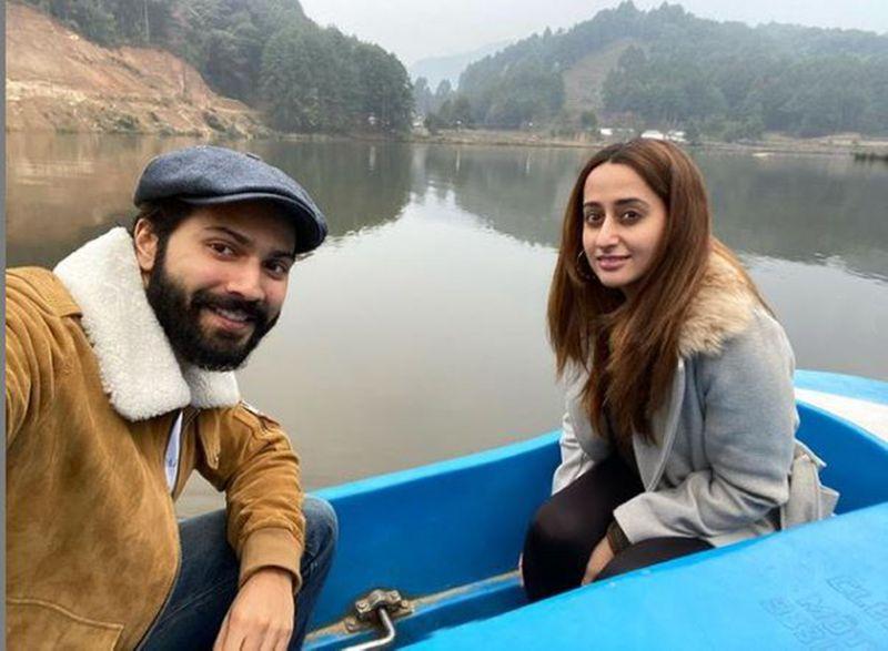 Varun Dhawan and Natasha Dalal