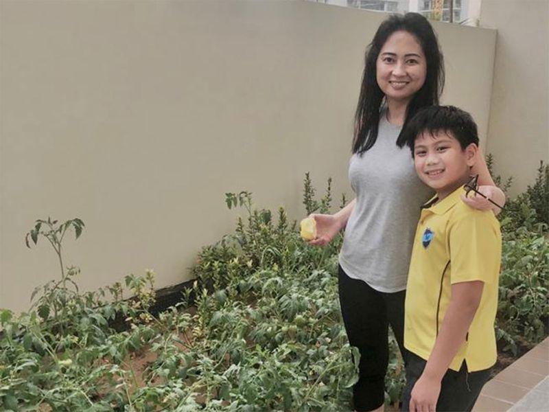 riza gochuico and son