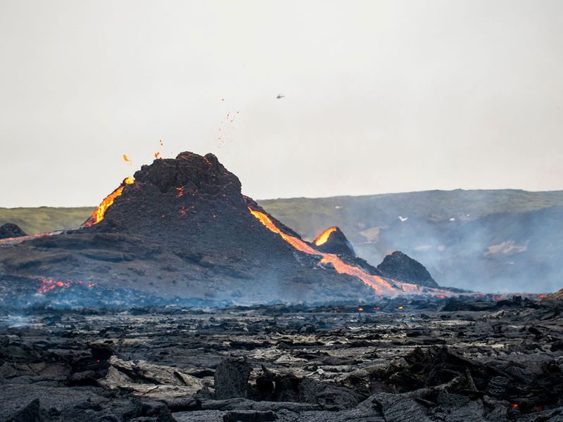 Fagradalsfjall volcano gallery