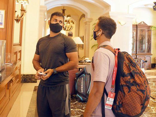 Kolkata Knight Riders players arrive for quarantine