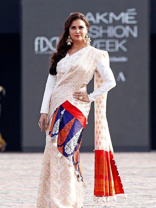 Lara Dutta at the Lakme Fashion Week
