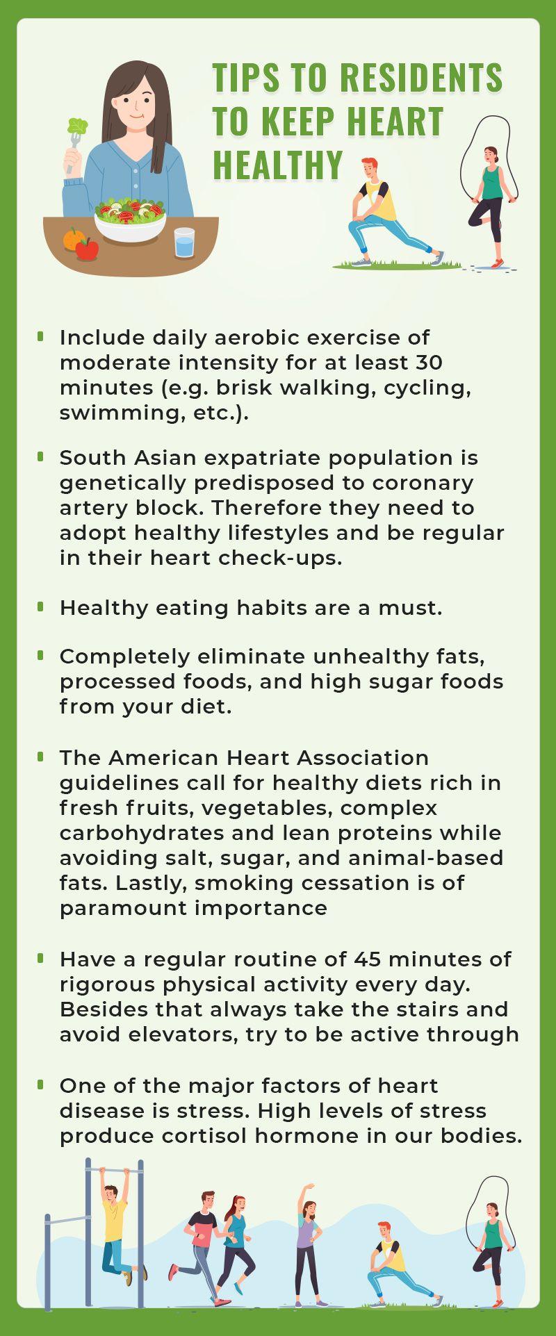 Tips to keep heart health