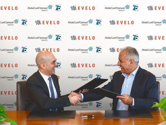 Abdul Latif Jameel Health and Evelo agreement