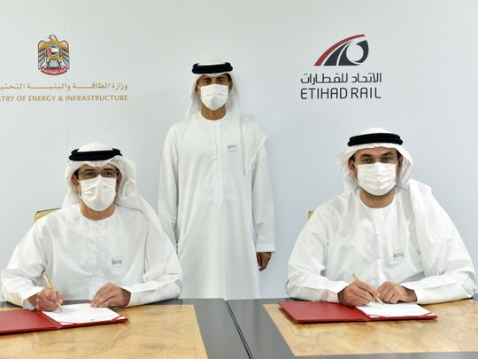 Etihad Rail and Ministry of Energy