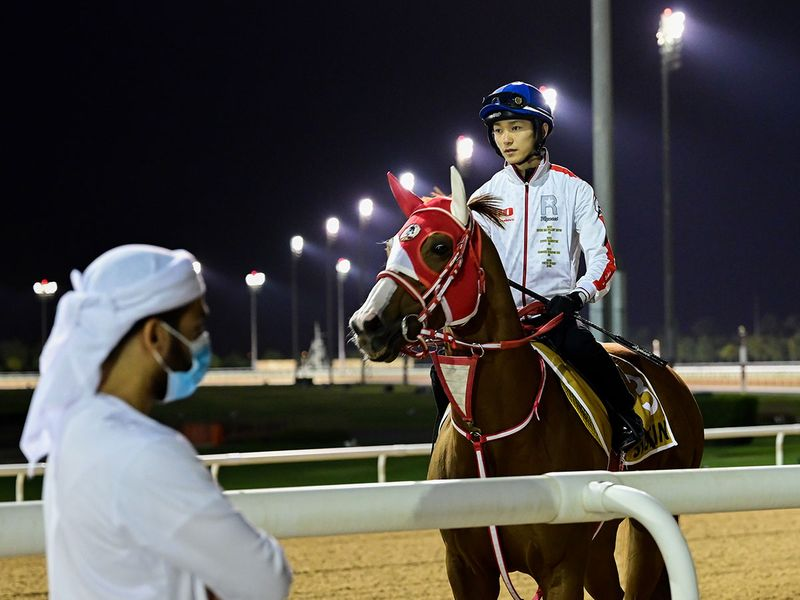Justin will run in the Gulf News-sponsored Golden Shaheen